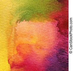 Abstracción acuarela pintada de fondo