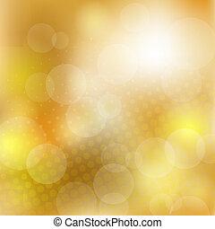 Abstracción de fondo dorado