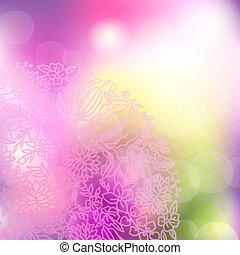 Abstracción de fondo rosa