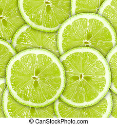Abstracción de fondo verde con frutos secos