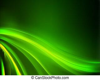 Abstracción de fondo verde. EPS 8