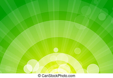 Abstracción de fondo verde