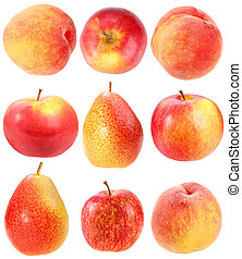 Abstracción de frutas rojas frescas