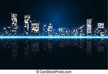 Abstracción de la ciudad