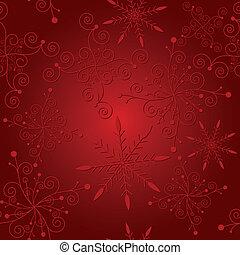 Abstracción de la Navidad roja