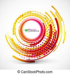 Abstracción de los círculos tecnológicos