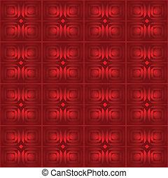 Abstracción de vector rojo