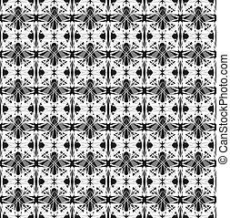 Abstracción patrón geométrico