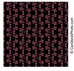 Abstracción sin manchas negras y rosadas