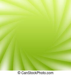 Abstracción verde