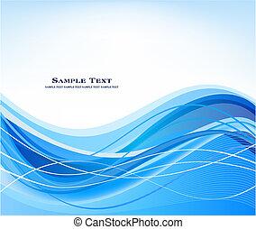 Abstract azul vector de fondo