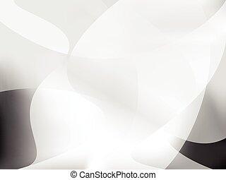 Abstract Greyscale suave vector de diseño de fondo