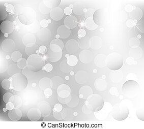 Abstracta las luces de la platería gris