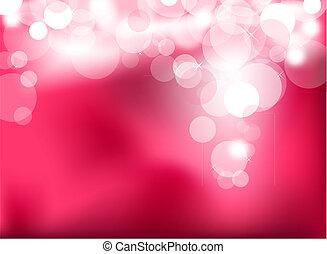 Abstractas luces rosas