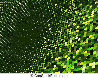 Abstracto de fondo mosaico verde. EPS 8