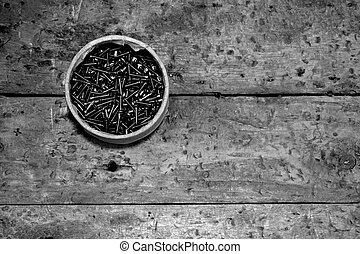 Abstracto de tornillo