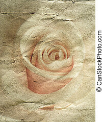 Abstracto fondo grunge con rosa