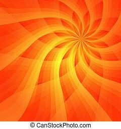 Abstracto fondo naranja