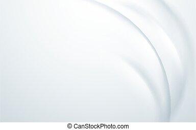 Abstracto fondo ondulado y suave. Vector de ilustración
