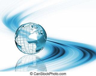 Abstracto globo