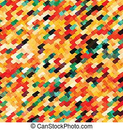 Abstracto multicolor sin costura
