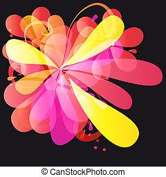 Abstracto vector colorido