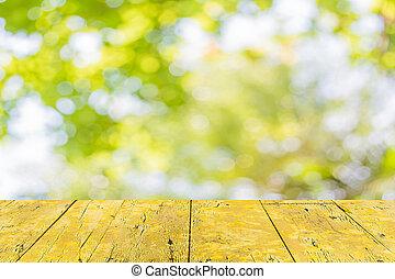 Abstrae a Bokeh de color de árbol
