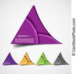 Abstrae el diseño de Vector