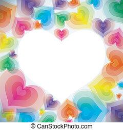 Abstrae el fondo del amor