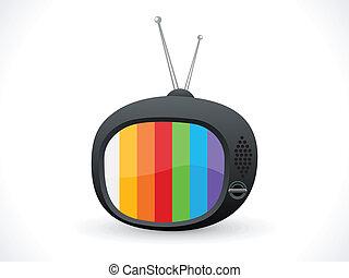 Abstrae el icono de la televisión