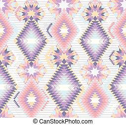 Abstrae el patrón azteca