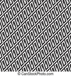 Abstrae el patrón blanco y negro 2