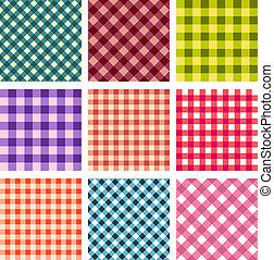 Abstrae el patrón cuadrado sin fisuras