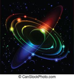 Abstrae el sistema solar número cinco.