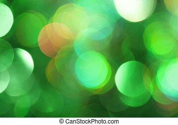Abstrae la luz verde
