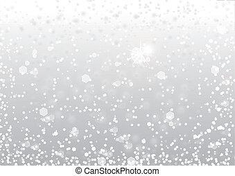 Abstrae la nieve