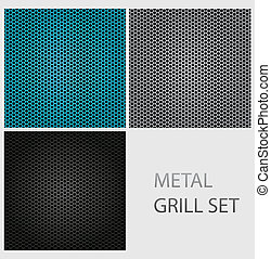 Abstrae la textura de hierro cromado