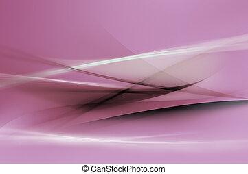 Abstrae las ondas púrpuras