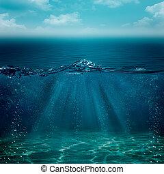 Abstrae los antecedentes subacuáticos para tu diseño