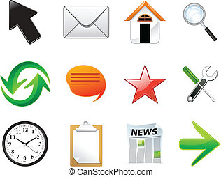 Abstrae múltiples iconos de la red