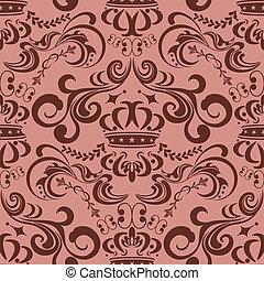 Abstrae un patrón rosado