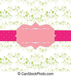 Abstrae un patrón sin fisuras de fondo con un marco original