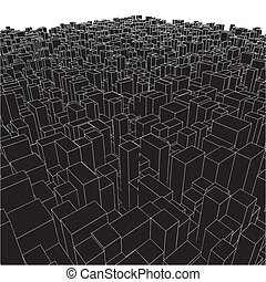 Abstraer cajas urbanas de cubo
