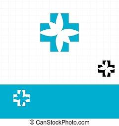 Abstraer el cartel de la farmacia azul