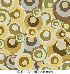 Abstraer el diseño de círculos retro