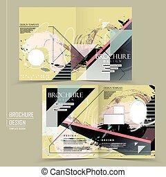 Abstraer el diseño de la plantilla de folletos