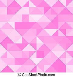 Abstraer el fondo del triángulo rosa