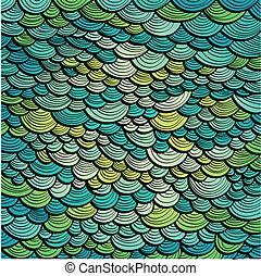 Abstraer el fondo marino verde