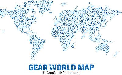 Abstraer el logo del mapa del mundo