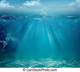 Abstraer el mar y los orígenes del océano para tu diseño